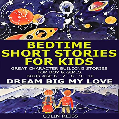 Bedtime Short Stories for Kids audiobook cover art