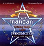 Curt Mangan Fusion Matched Stainless Wound 5-String Banjo Strings (9-10-13-20W-9)
