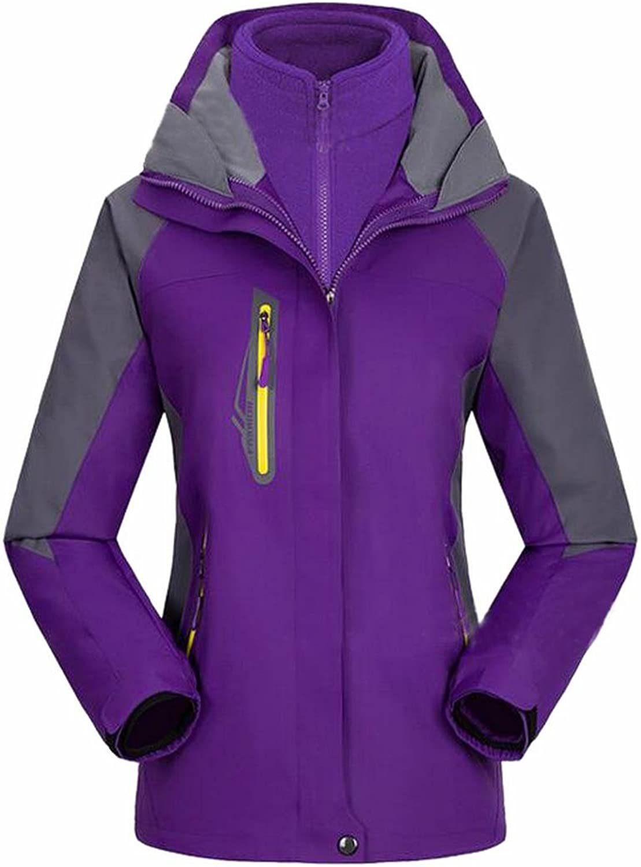 Yayu Women Stylish Waterproof Raincoat Sportswear Hoodie Hiking Mountaineer