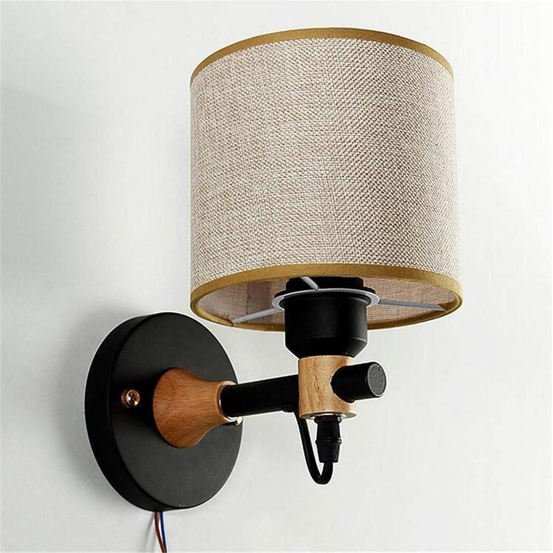 HBLJ Wandleuchte Lampe Kreative Gang Schlafzimmer Tuch Wandleuchten E27 1-Lights Laterne Wandleuchte für Wohnzimmer, Esszimmer, Schlafzimmer