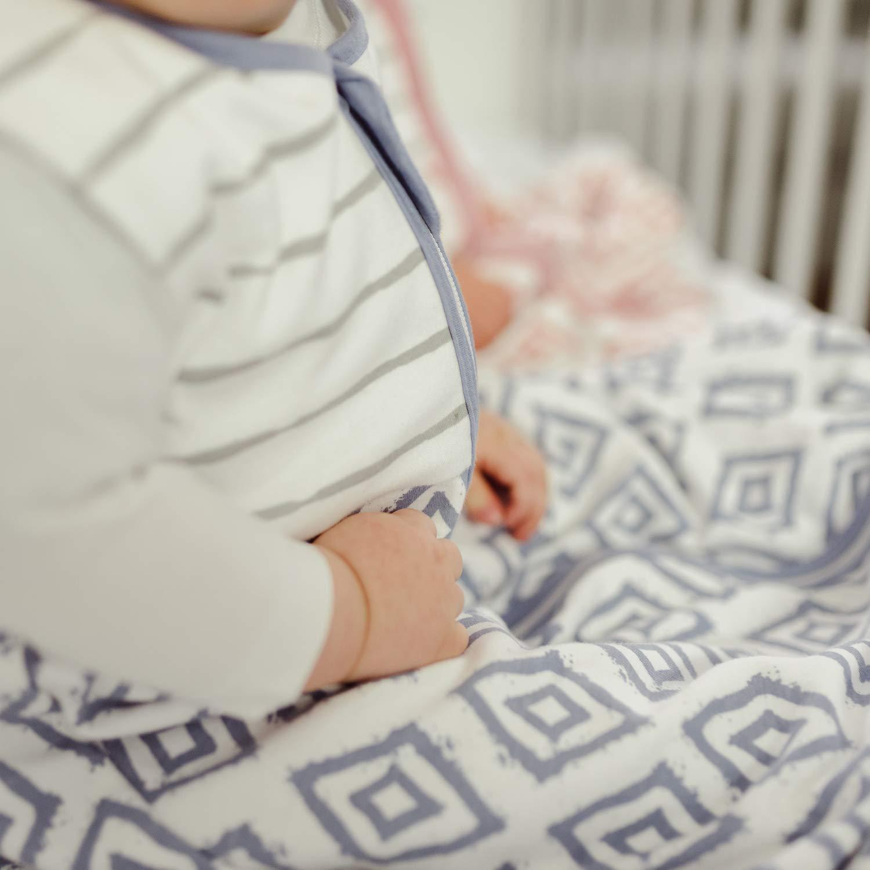 emma /& noah Sac de couchage b/éb/é hiver 100/% coton Design: Points Peach Temp/érature: 15-21/°C Taille: 60cm /épaisseur 2.5 TOG Age: 0-3 mois