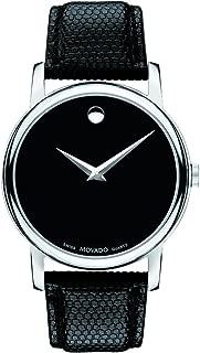 Men's 2100002 Museum Black Stainless Steel Watch