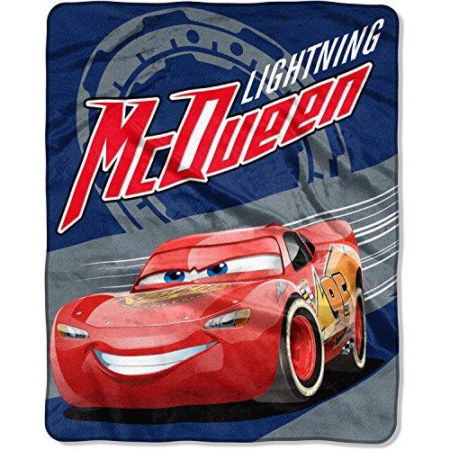 Disney Pixar Cars 3 Silky Soft Throw with Lightning McQueen