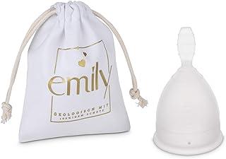 Återanvändbar menstruationsmugg Single Cup i storlek S och TRANSPARENT – praktiskt och tillförlitligt alternativ till tamp...