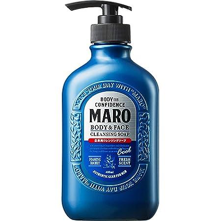 【クール】全身用 ボディソープ [ ハーブシトラスの香り ] MARO マーロ 450ml メンズ