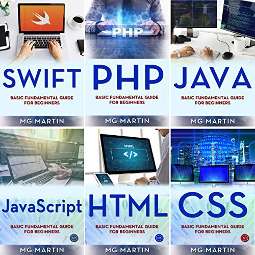 Programming for Beginners: 6 Books in 1 - Swift+PHP+Java+Javascript+Html+CSS: Basic Fundamental Guide for Beginners Titelbild