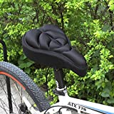 cloforsale Bike Seat Cover, Premium Quality Bike Bicycle Saddle Pad Cover Comfort Breathable