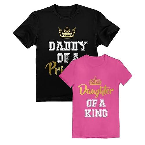0e03e2213 Father & Daughter Matching Set Dad & Toddler Girl T-Shirts