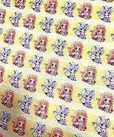 鬼滅の刃 生地 布 はぎれ 巾約48cm x 140cm ハンドメイド 手作り N0.4564 (48cm x 140cm)
