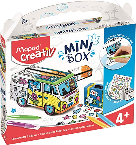 Creativ in kaart gebracht Craft Mini Box