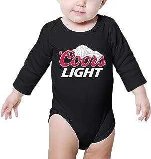 Long Sleeve Baby boy' Clothes coors-Light-Logo- Cute Onesies