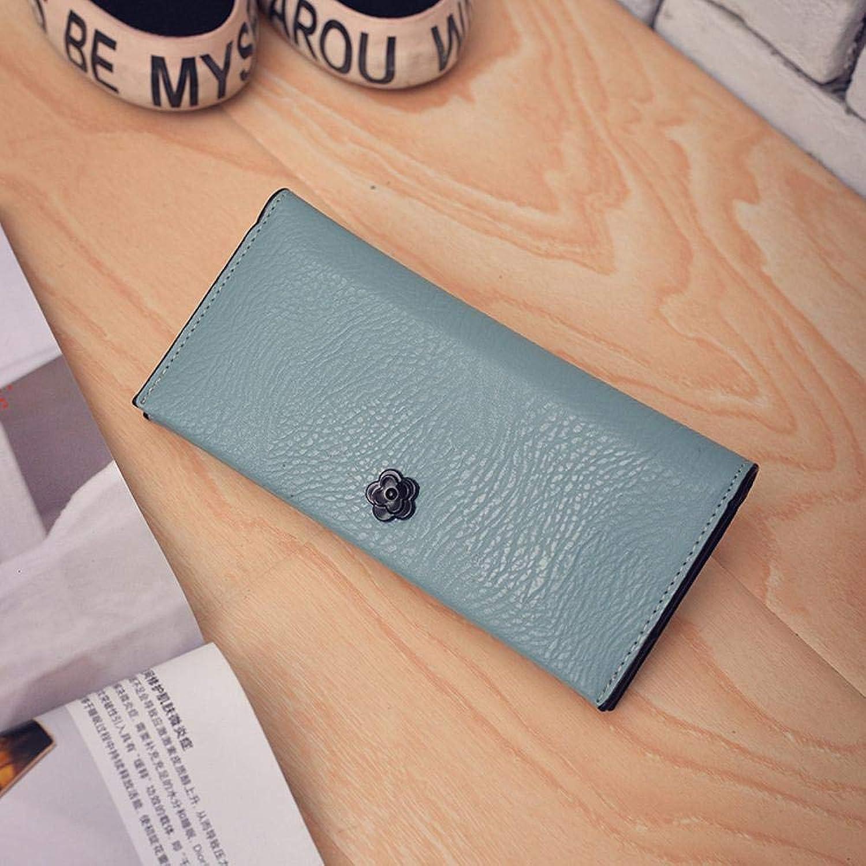 Girls Purse Women's Wallet Ladies Pu Wallet Hand Bag (color   E)