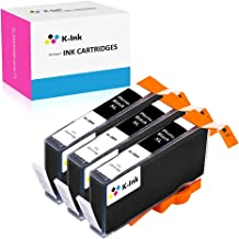 K-Ink Compatible Ink Cartridges Replacement for HP Photo Black 564XL 564 XL (3 Small Thin Photo Black)