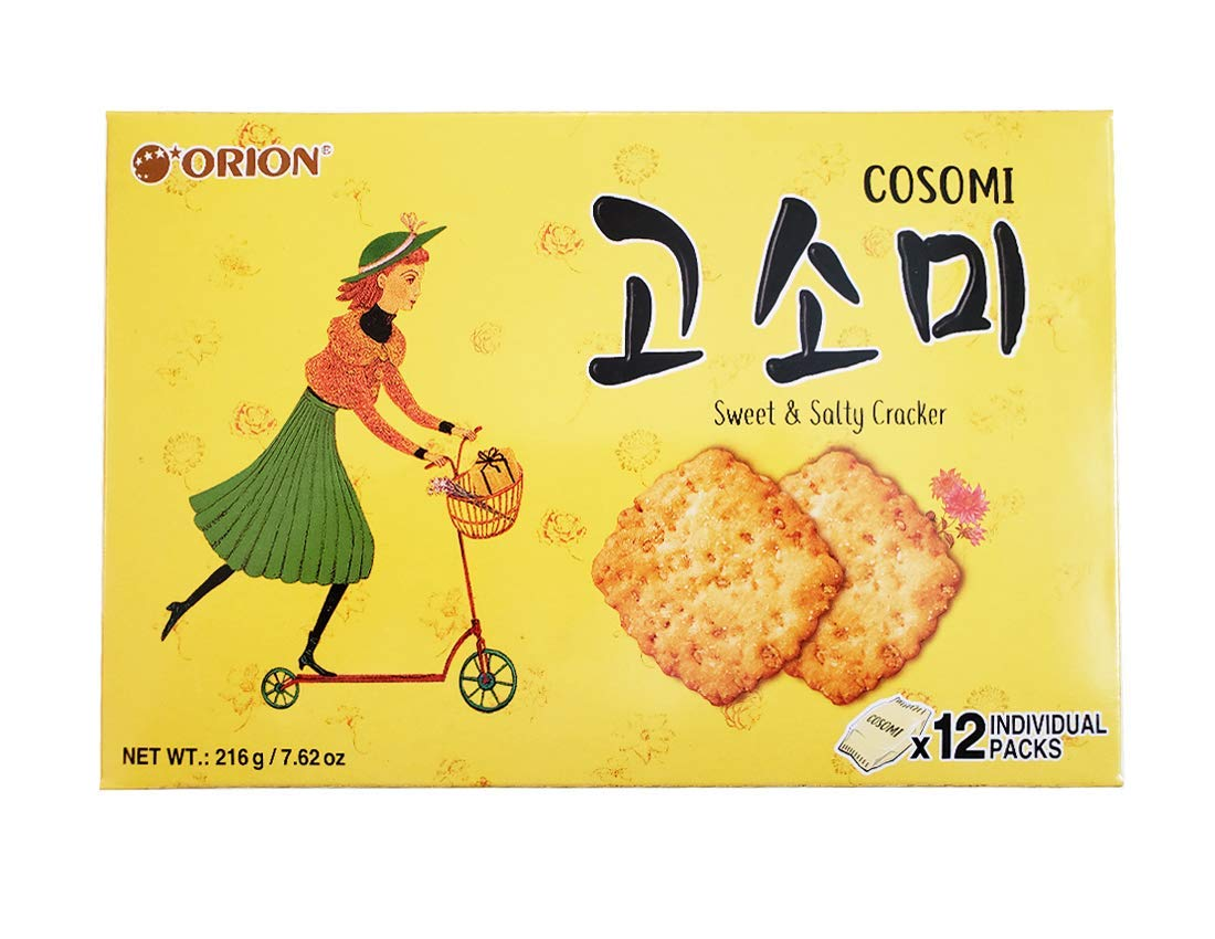 Orion Gosomi Sweet Salty lowest price Cracker Packs 12 individual 216g Manufacturer OFFicial shop
