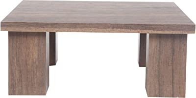 Tubestyle Block Table (Brown)