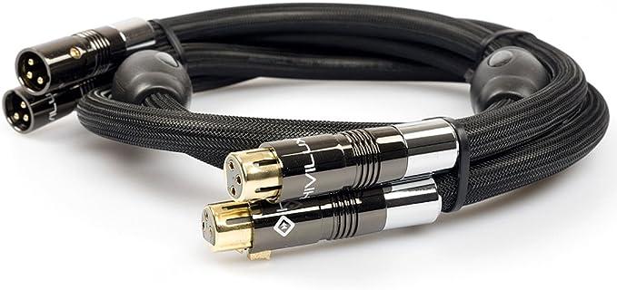 Hivilux Referenz Hifi Balanced Nf Xlr Kabel Occ Scc Ø 14mm Stereopaar 2x Kanal 1 5m Paar Musikinstrumente