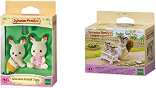 SYLVANIAN FAMILIES Chocolate Rabbit Twins Mini muñecas y
