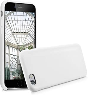 kwmobile TPU Silicone Case for Apple iPhone 6 / 6S - Soft Flexible Rubber Protective Cover - White