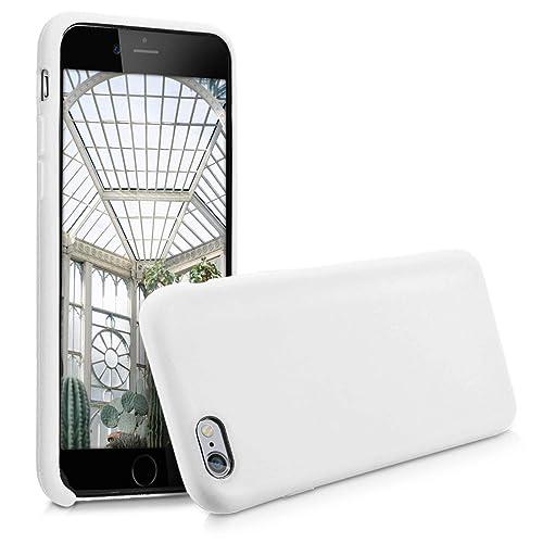 sale retailer 73d91 7a12a Silicone Case White iPhone 6s: Amazon.com