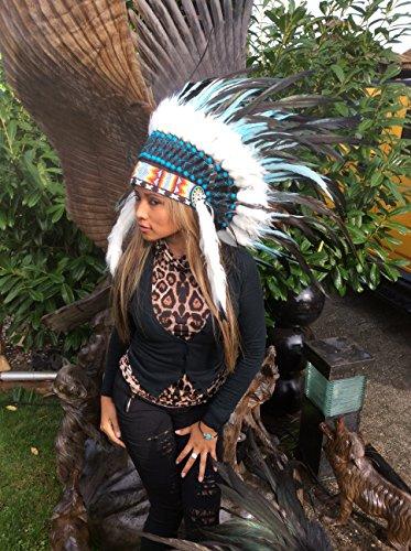 kenai Federhaube ,Indianer Haube,War Bonnet ,Indian Headdress ,Coiffe indienne ,Squaw,Little Big Horn