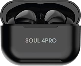 Xcell Soul 4PRO Wireless Earbuds with Bluetooth 5.0 in-Ear Stereo, Monaural/Binaural Calls, Single/Twin Mode, Extra Ear bu...