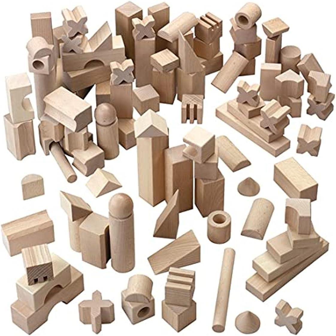 HABA Basic Building Blocks 102 Extra Piece Max 69% OFF Wooden Large Starter Manufacturer OFFicial shop