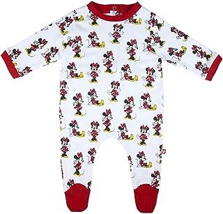 CERDÁ LIFE'S LITTLE MOMENTS - Pelele Algodón Bebé de Minnie - Licencia Oficial Disney, Bebés