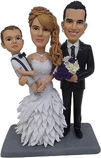 Bambole di argilla polimerica OOAK regali per la famiglia per la festa del papà festa della mamma regali commemorativi bam...