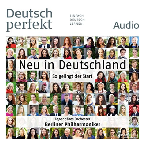 Deutsch perfekt Audio. 11/2015 Titelbild