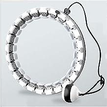 YPLDM Auto-Spinning Hoop, Smart Hula Hoop Verwijderbare Verstelbare Siz Fitness Ring voor Gewichtsverlies en Kinderen Oefe...