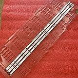 Miwaimao 3pcs LED Backlight Strip for LG 43UK6300PLB 43UJ634V 43LJ61_FHD_L 43UJ651V 43UJ561V 43UJ701V 43UK6200 43UJ630V 43UJ635V 43LJ624V