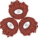 MSBELLE 3 Packs/Lot 8 Inch Spring Crochet Twist Braiding Hair Extensions 110g/Pack(350#)