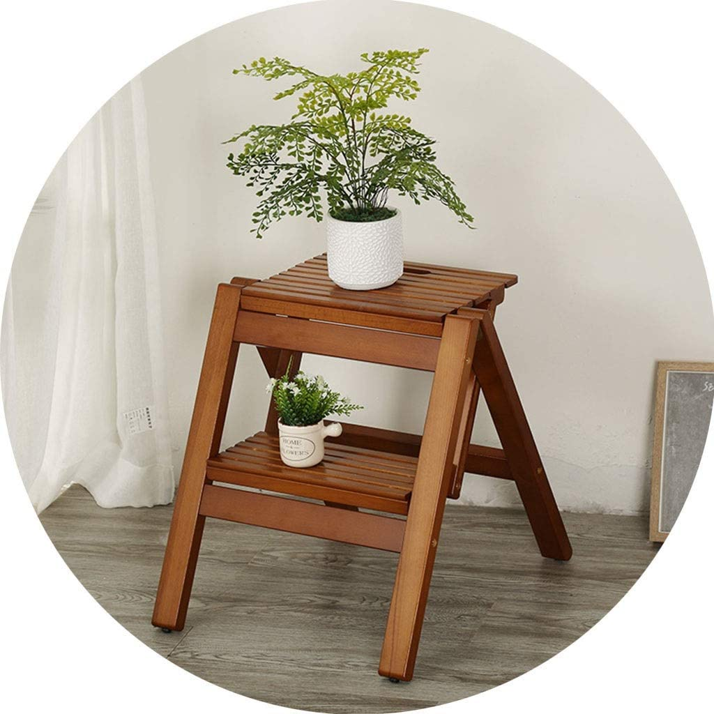 Ladder Stool Folding Price Max 67% OFF reduction Portable Wooden Square Household For