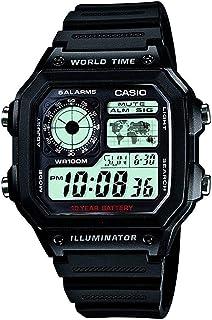 CASIO Watch Digital AE-1200 WH-1A Men's Overseas Model Japan
