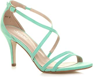 a6c2f56e2f4 Amazon.co.uk: Green - Sandals / Women's Shoes: Shoes & Bags