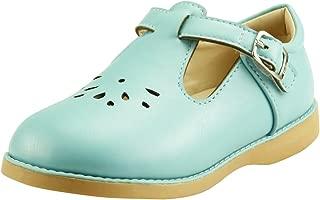 Girl's Mary Jane Flat for Toddler/Little Kid School Dress Shoes