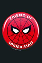Marvel Spider Man Far From Friends Of Spider Man Circle Logo Premium: Notebook Planner - 6x9 inch Daily Planner Journal, T...