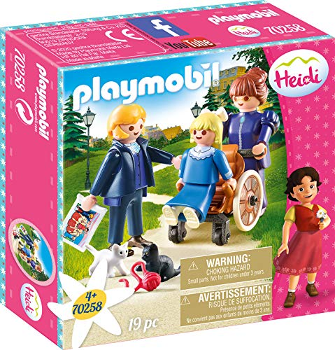 Playmobil 70258 Clara with Father and Miss Rottenmeier - New 2019