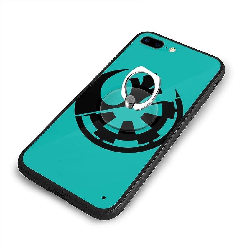 クリーム不愉快橋スターウォーズ反乱同盟プラチナiPhone 7/8 Plusケースリングブラケット 携帯カバー 創意デザイン軽量 傷つけ防止 360°回転ブラケット 携帯ケース PC 衝撃防止 全面保護