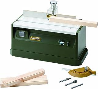 プロクソン(PROXXON) テーブルルーター 小型卓上トリマー 刃物高さ調整が手軽、作業時の粉塵も掃除機接続で室内も可能 No.27050