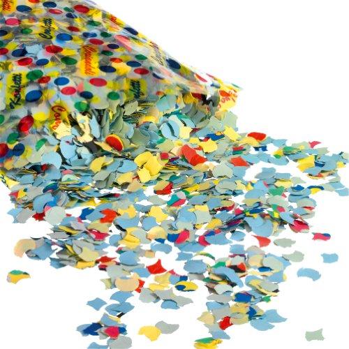 Susy Card 11220803 Konfetti 1000 g Papier