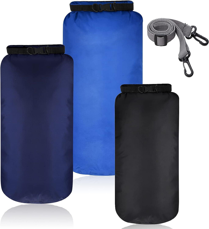 3 Pieces Waterproof Dry Bag Outdoor Sacks Many popular brands Kayak Storage Max 73% OFF