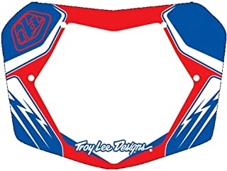 Troy Lee Designs TLD BMX Plate Red/White/Blue 10