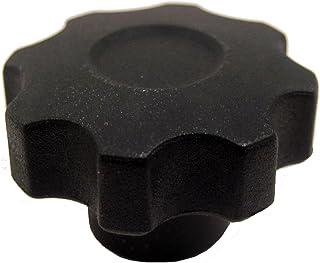 90mm Head Diameter Steel Threaded Stud JW Winco Phenolic Plastic Six Lobed Knob M16 x 2.0 Thread Size x 60mm Thread Length Pack of 1