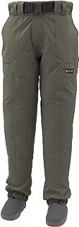 Simms Freestone Stockingfoot Wading Pants for Men – 4 Layer Waterproof Wader Pants with Gravel Guards – Breathable Fishing Stocking Foot Waders