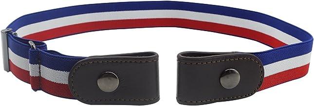 Lovful Unisex Women/Men Elastic Waist Belts for Jeans No Bulge No Hassle Belt