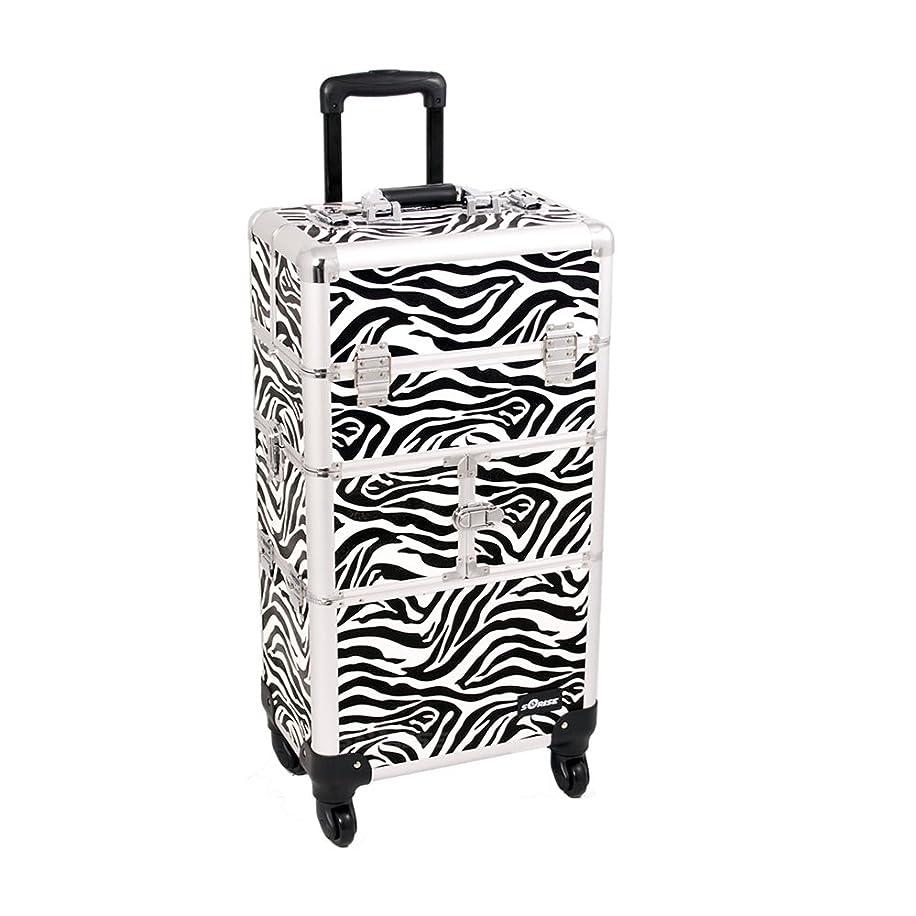 Zebra Trolley Craft/Quilting Storage Case - I3564