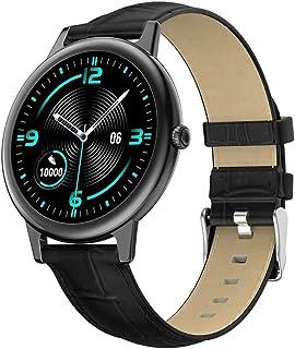 Damski inteligentny zegarek modny zegarek na rękę IP68 wodoodporny pełny ekran dotykowy Bluetooth wiele trybów sportowy sm...