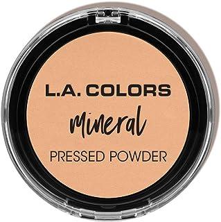 (30ml, Creamy Natural) - L.A. Colours Mineral Pressed Powder, Creamy Natural, 30ml