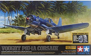 Tamiya Models Vought F4U-1A Corsair Kit